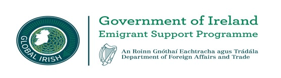 Government of Ireland Emigrant Support Programme logo