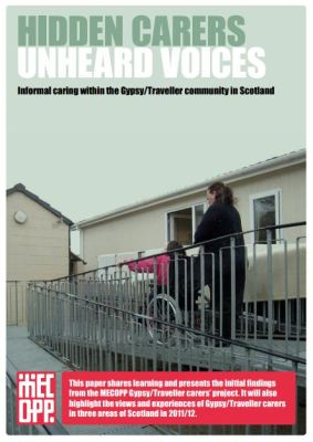 thumbnail of report cover for 'Hidden Carer, Unheard Voices'