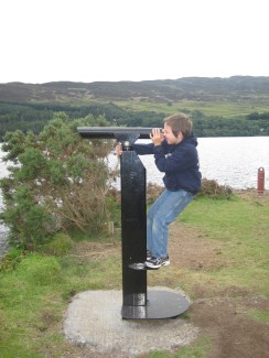 searching for Nessie!