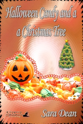 Halloween Candy and a Christmas Tree by Sara Dean