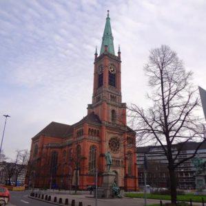 A church in Düsseldorf