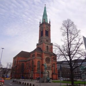 A church in Düsseldorf
