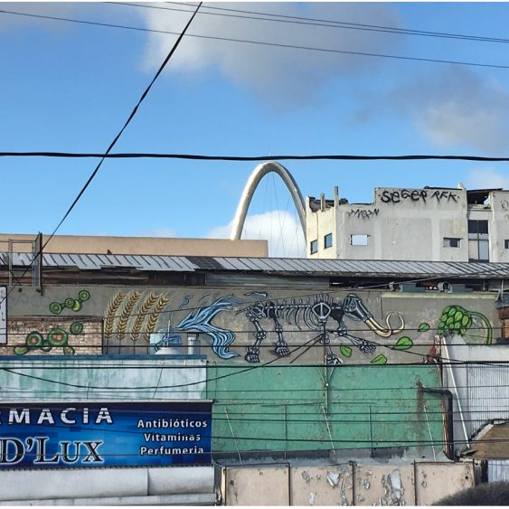 Mural at Mamut Brewery in Tijuana