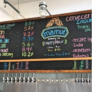 Mamut Brewery in Tijuana