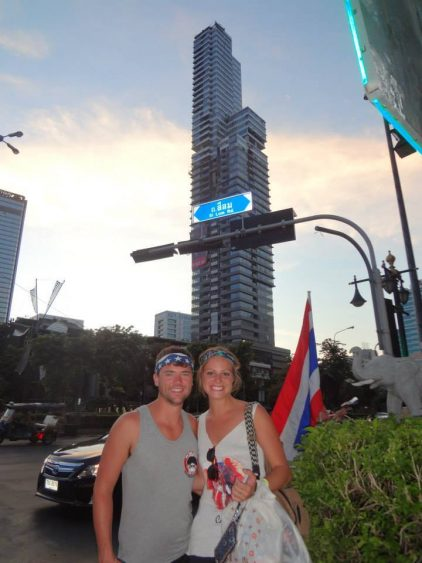 Rachel and Grant in Bangkok