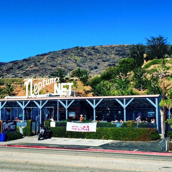 Neptunes Net a biker bar in Malibu California