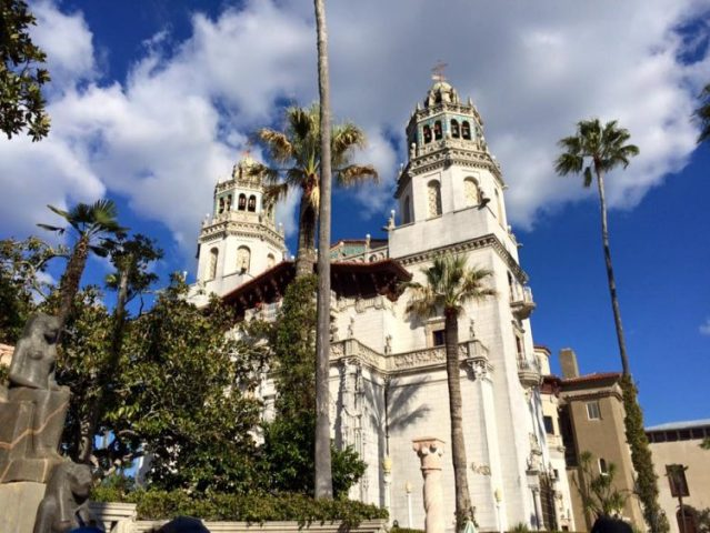 The Hearst Castle in California near the PCH