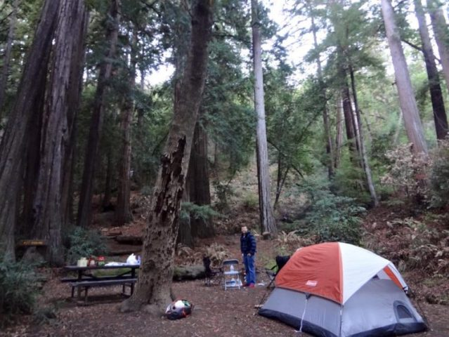 Camping in Big Sur California