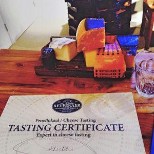 Reypenaer Proeflokaal cheese tasting