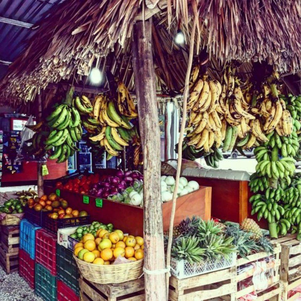 A supermarket in Tulum