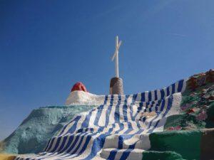 Cross on Salvation Mountain