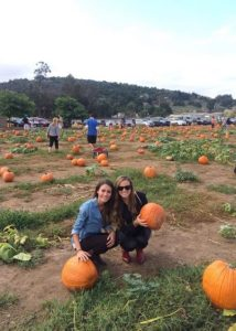 A pumpkin patch in Julian California Weekend Getaway
