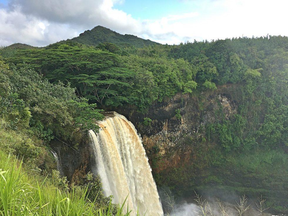 Wailua Falls on Kauai