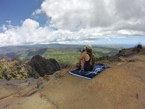 Rachel at Waimea Canyon on Kauai