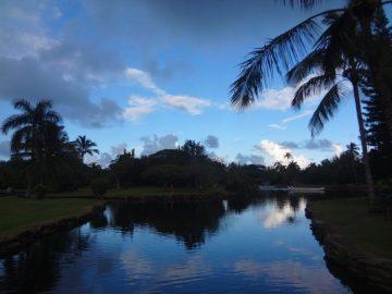 The gardens at Smith's Family Garden Luau on Kauai