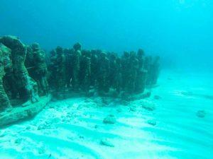 MUSA dive site Isla Mujeres