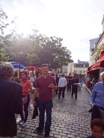 Grant in Montmarte