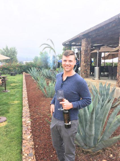 Grant at El Cielo