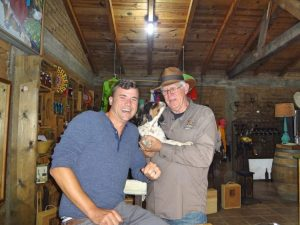 Grant and owner at Cieli Valle de Guadalupe