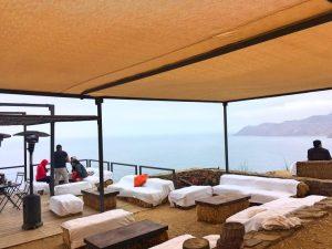view from mirador bar at cuatro cuatros