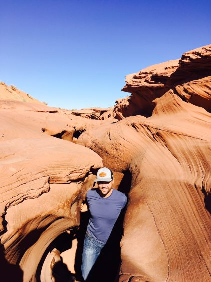 grant at antelope canyon