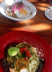 Breakfast at Basico Holbox
