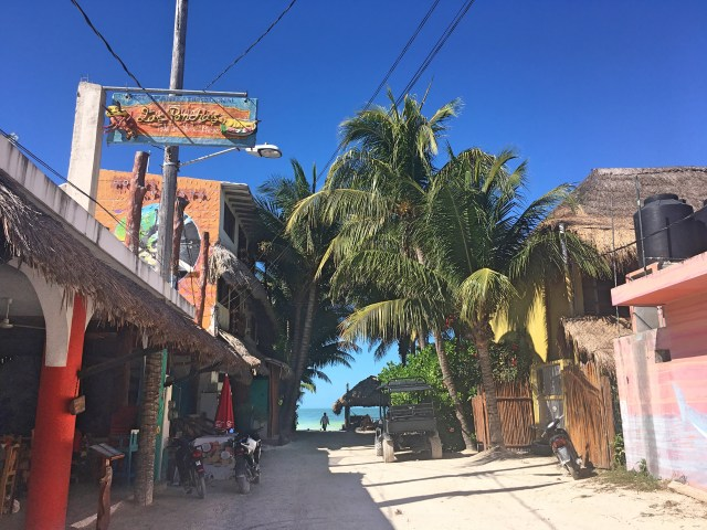 downtown isla holbox