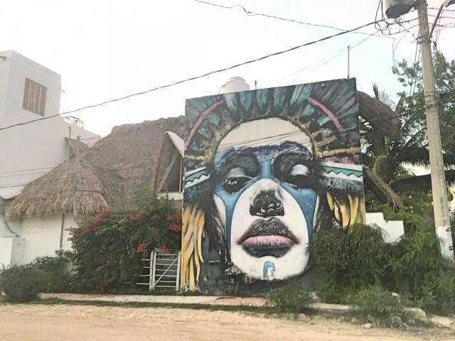 holbox street art