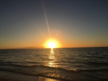 sunset isla holbox