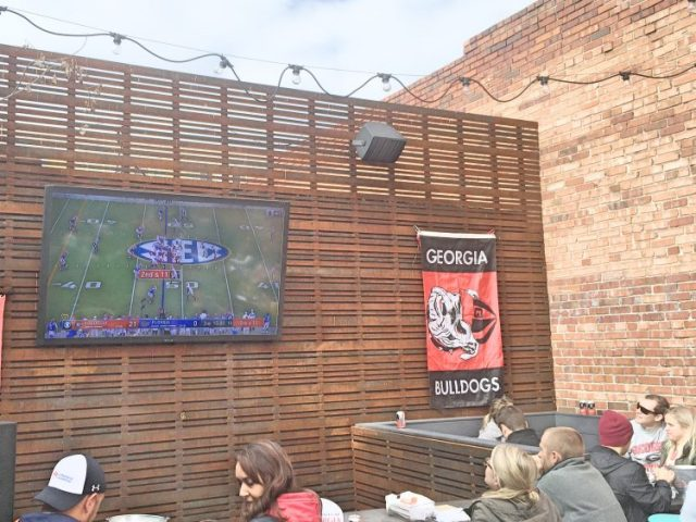UGA bar in Denver