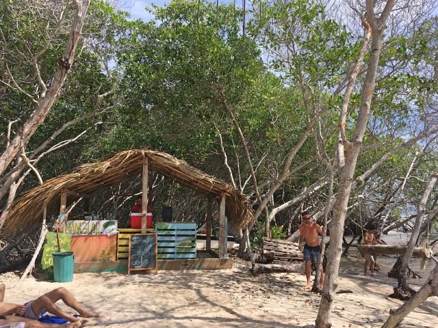 beach at hostels paraiso secretos isla grande