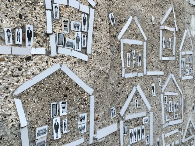 mosaic houses that are part of cartagena's street art scene