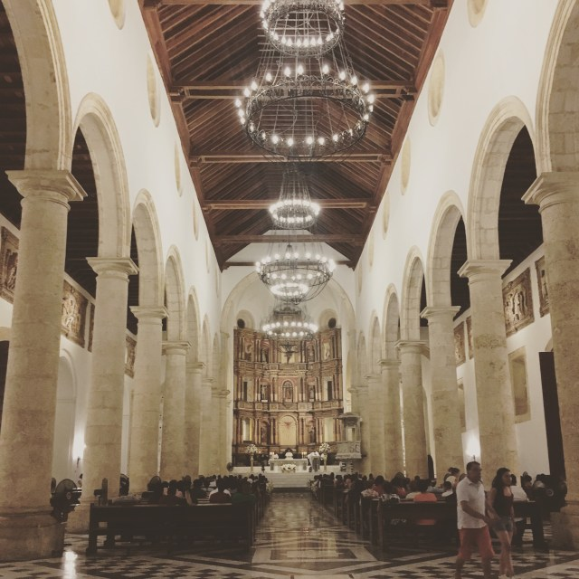 catherdral in cartagena