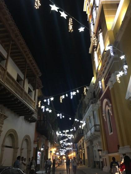 christmas lights cartagena