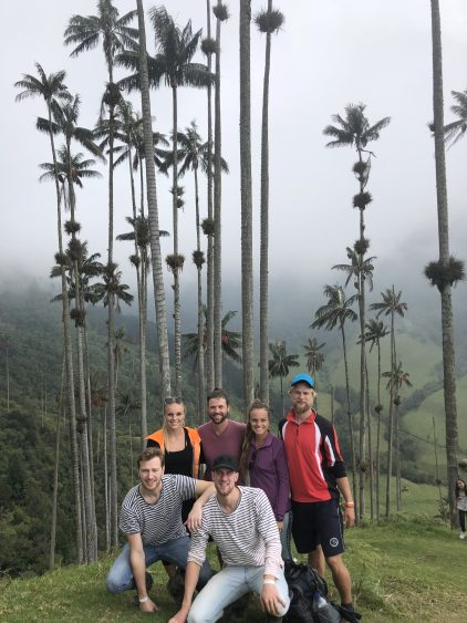 hiking in colombia