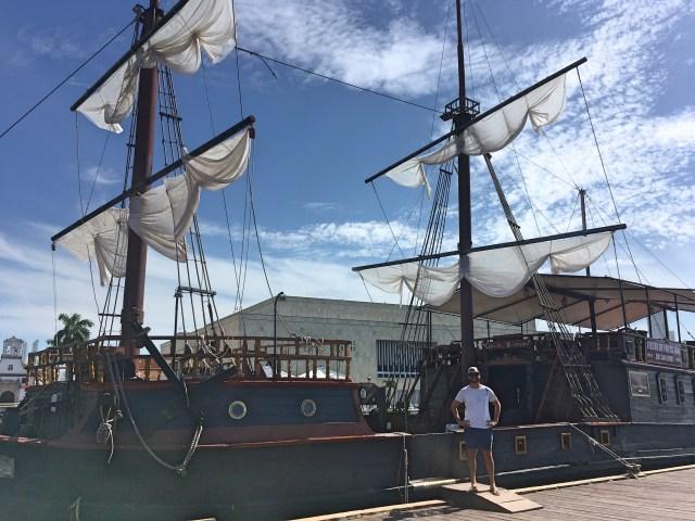 pirate ship cartagena