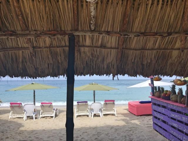 view at playa blanca cartagena
