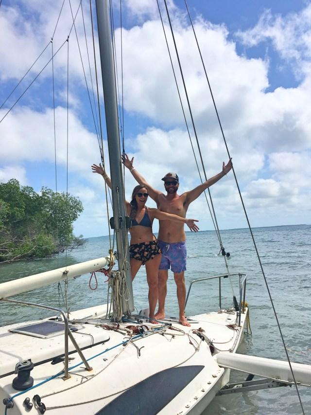 sailboat at paraiso secreto