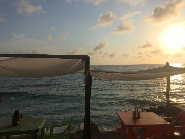 sunset isla grande
