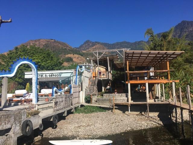 hostel del lago san marcos