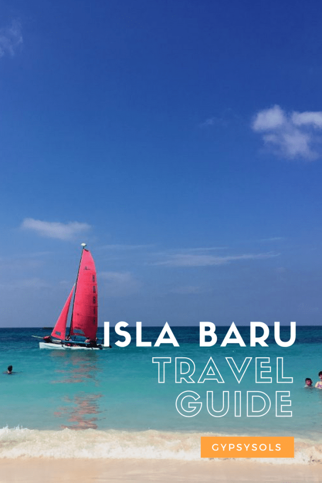 The Islands of Cartagena or Islas del Rosario are fantastic. We stayed on both Isla Grande and Isla Baru and absolutely recommend them both. #GypsySols #Cartagena #IslaDelRosario #IslaGrande IslaBaru #Colombia