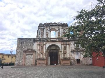 building in antigua