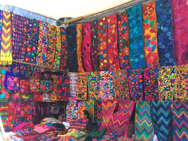 clothing at chichi market