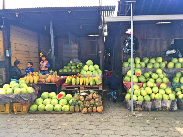 fruit at antigua market