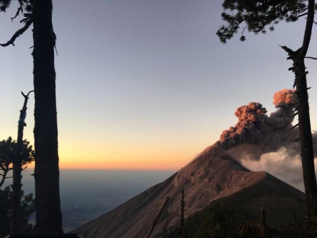volcano acatenango guatemala