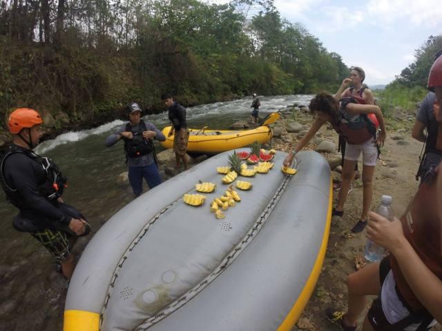 fruit raft costa rica