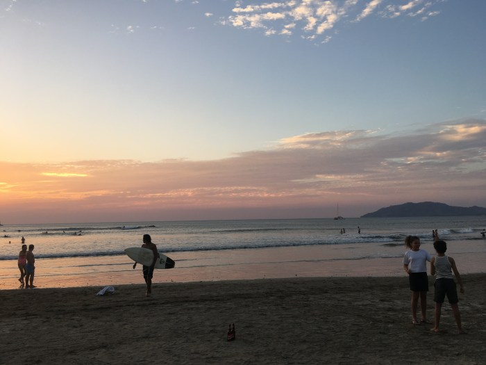 tamarindo sunset