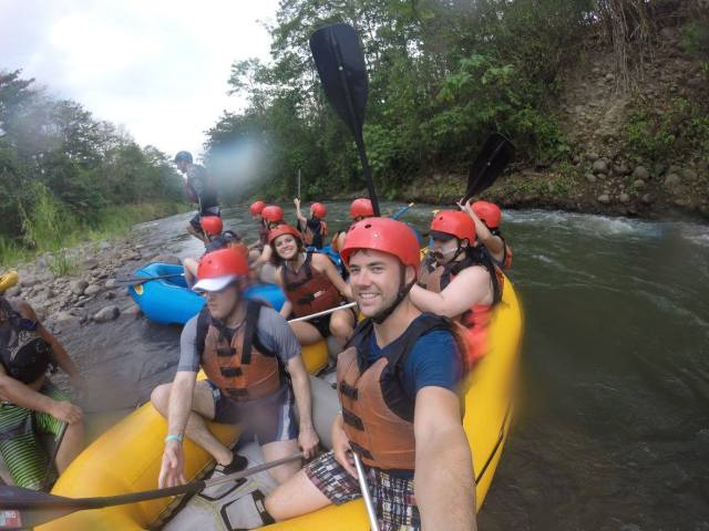 white water raft