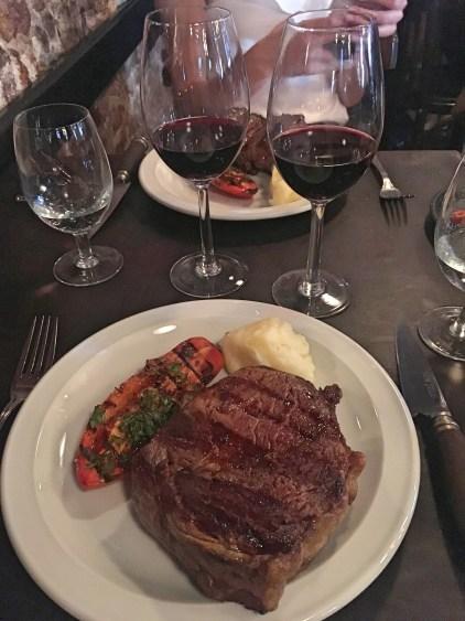 lunch steak buenos aires