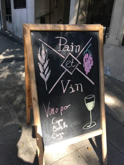 pain et vin ba